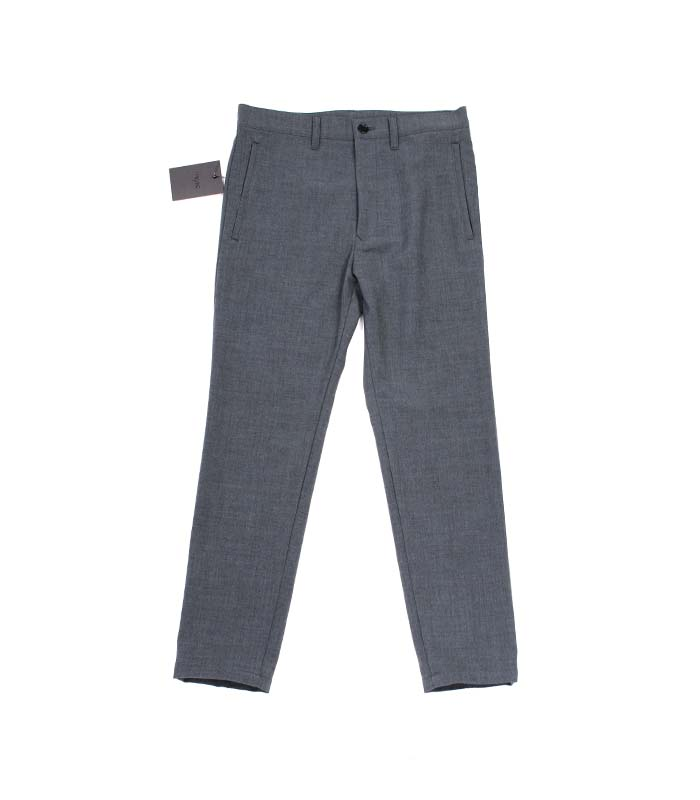 weyep 16 a/w wool slacks (charcoal)