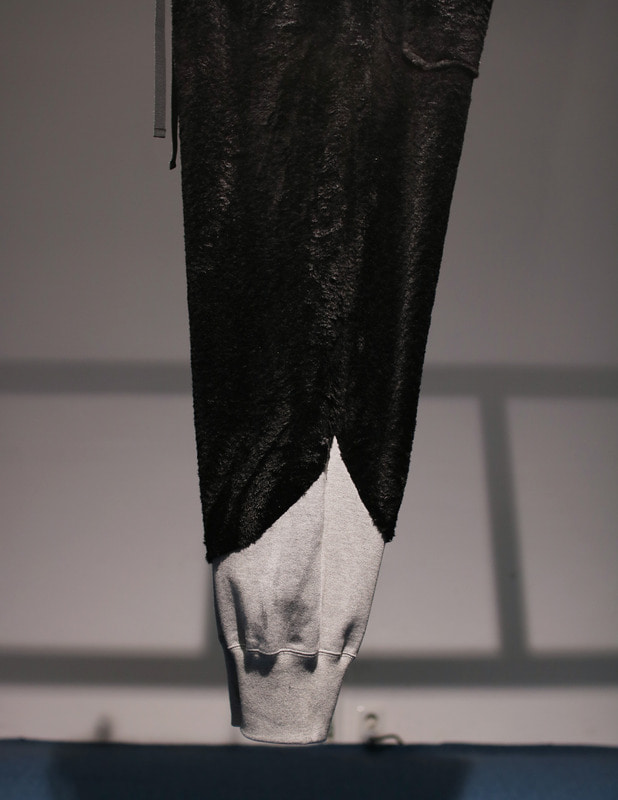 digawel / SWITCH PANTS (TOP GRAY X BLACK)